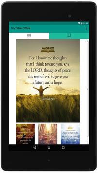NIV Bible Offline poster