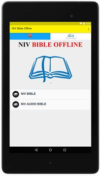 NIV Bible Offline apk screenshot