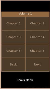 Web novel apk screenshot