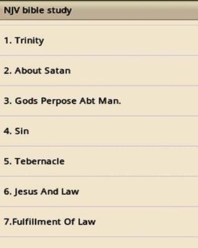 Nithya Jeevada-NJV Bible Study apk screenshot