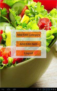 Salad Bar eMenu Lite apk screenshot