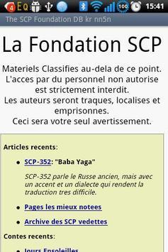 The SCP Foundation DB fr nn5n poster