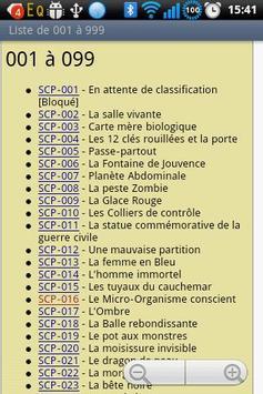 The SCP Foundation DB fr nn5n apk screenshot
