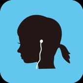 名作物語で英語学習 バックグラウンド再生・リスニング力アップ icon