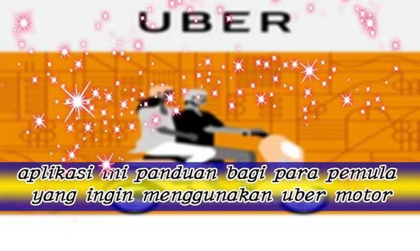 Cara Memesan Uber Motor poster
