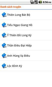 Truyện kiếm hiệp offline apk screenshot