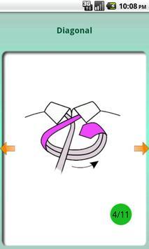Tie a tie pro apk screenshot