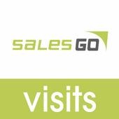 SalesGo Visits icon