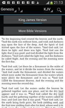 Holy Bible KJV apk screenshot