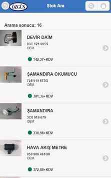 Özgün Otomotiv B2B apk screenshot