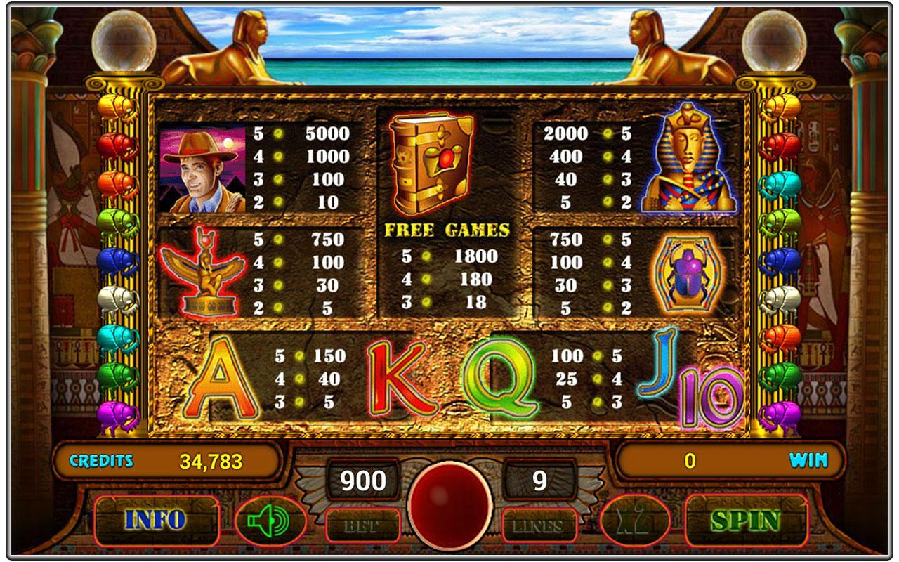 casino games free online book of ra download free