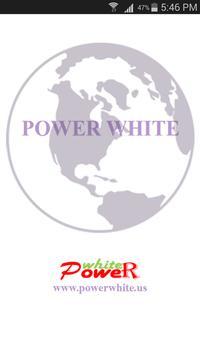 POWER WHITE Plus poster