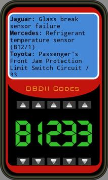 OBDII Trouble Codes Lite poster