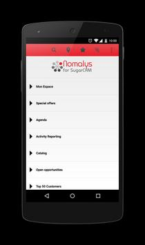 Nomalys for SugarCRM apk screenshot