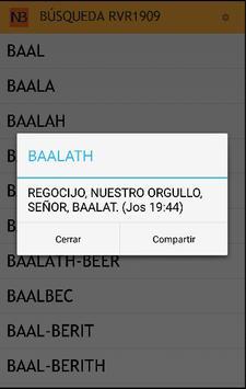 Glosario Nombres Bíblicos apk screenshot