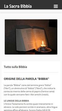 La Sacra Bibbia Studi apk screenshot