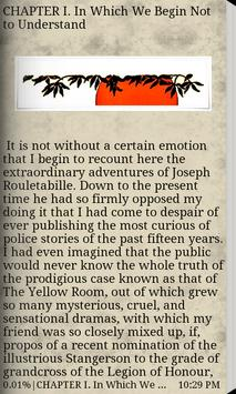 The Mystery of the Yellow Room apk screenshot