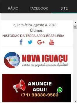 Rádio Nova Iguaçu apk screenshot