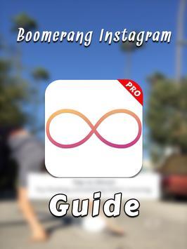 Guide for Boomerang Instagram poster