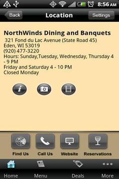 NorthWinds Dining & Banquets apk screenshot