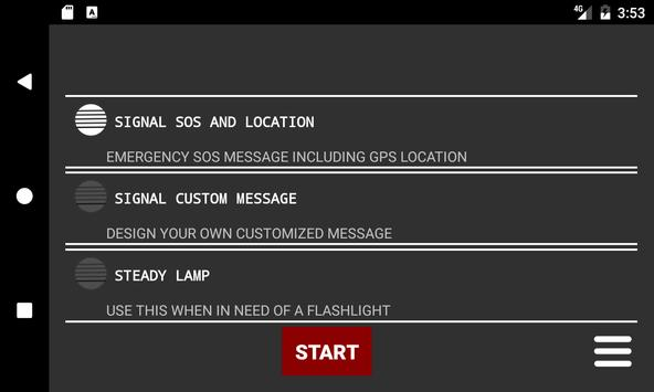 MORSE SIGNAL LAMP apk screenshot