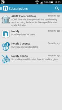 Notafy apk screenshot