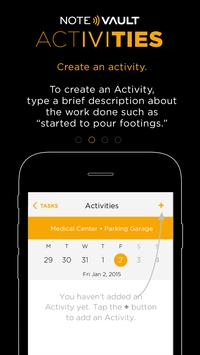 NoteVault Activities apk screenshot