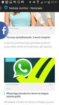 Notizialo apk screenshot