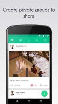 Grape - Group sharing apk screenshot