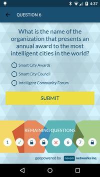 Quiz Smart City Expo Montréal apk screenshot