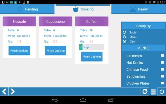 BeeOrder - Kitchen apk screenshot