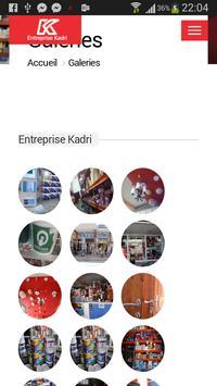Entreprise kadri apk screenshot