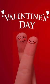 Valentines Day Sms poster