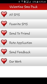 Valentines Day Sms apk screenshot