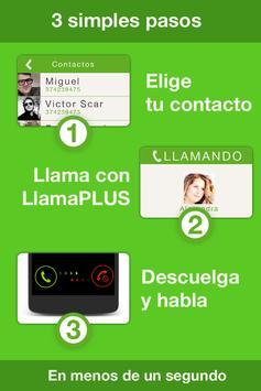 LlamaPLUS , Habla + paga - apk screenshot