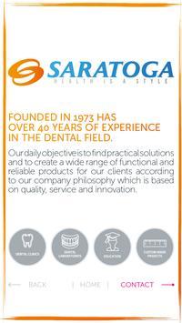 Saratoga Business Card poster