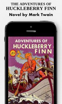 ADVENTURES OF HUCKLEBERRY FINN poster