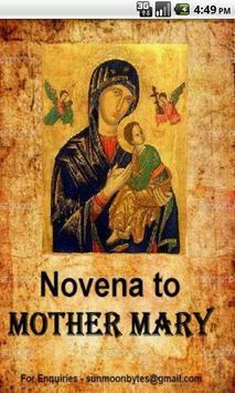Mother Marys Novena Prayers poster