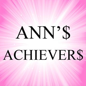 ANN'$ ACHIEVER$ poster