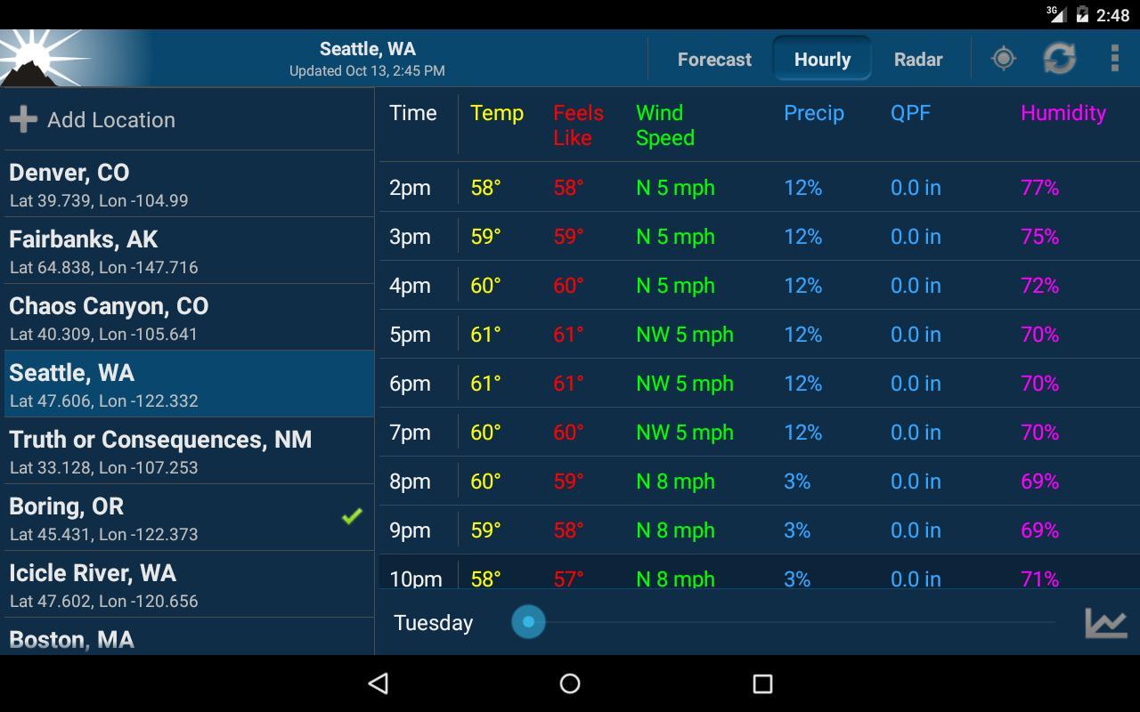 noaa weather unofficial apk download