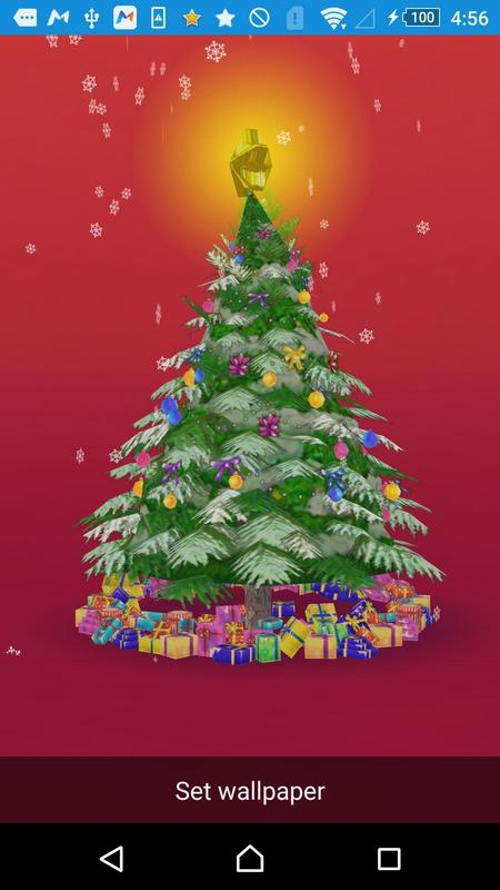 3d christmas live wallpaper apk download free entertainment app for