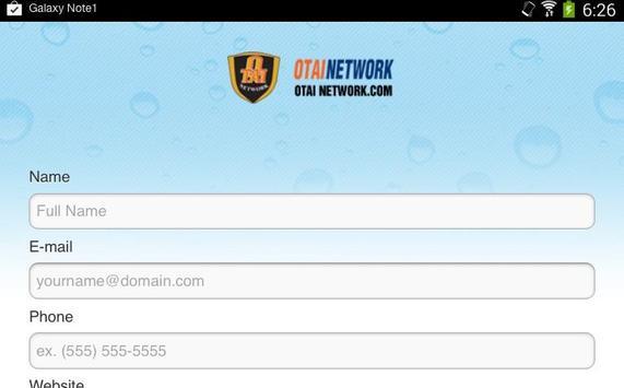 OTAI NETWORK apk screenshot