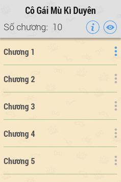 Cô Gái Mù Kì Duyên FULL apk screenshot
