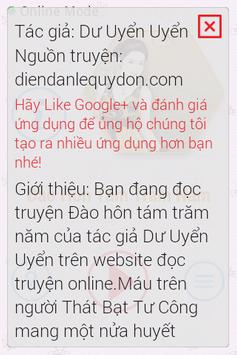Đào Hôn Tám Trăm Năm FULL CHAP apk screenshot