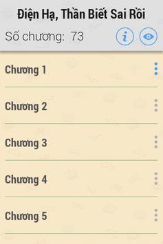 Điện Hạ, Thần Biết Sai Rồi HAY apk screenshot