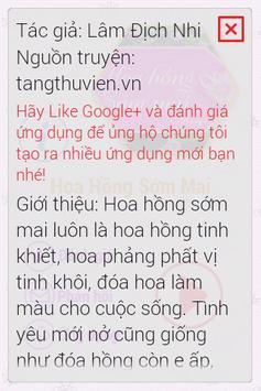 Hoa Hồng Sớm Mai FULL 2014 apk screenshot