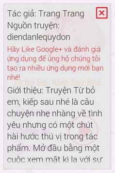 Từ Bỏ Em, Kiếp Sau Nhé FULL apk screenshot