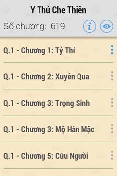 Y Thủ Che Thiên HAY - UPDATED apk screenshot