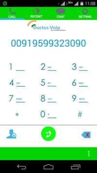 Ouctus Mobile Softphone apk screenshot