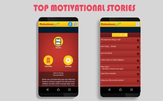 Top Motivational Stories apk screenshot